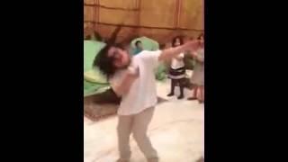 رقص بنت سعودية جميل جدا