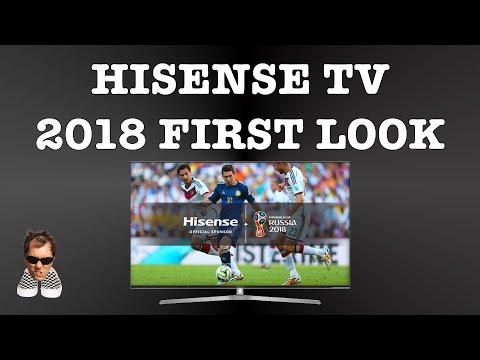 HISENSE NEW 2018 SMART TV first look