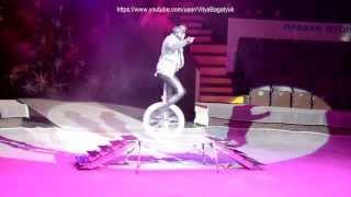 классная езда на одном колесе!часть 1