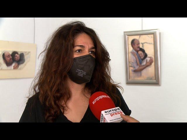Una muestra aúna la pintura de Soledad Aza y la poesía de Manuel Pacheco