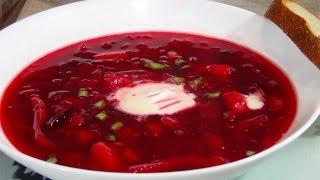 Как приготовить вкусный диетический борщ  (Diet soup)