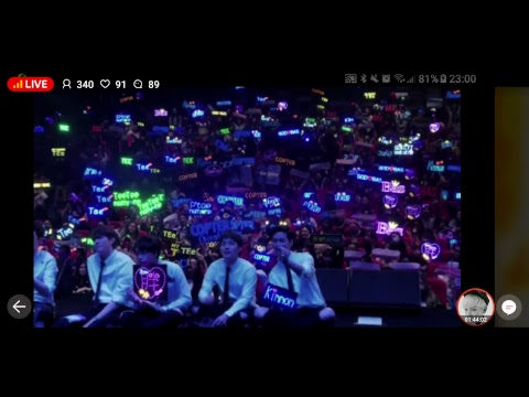 [ Live ]  6 MoonsAsiaTour in Wuhan China    part 2