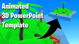 Erstellen Sie Ein Animiertes 3D-Insel PowerPoint-Präsentation