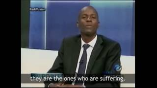 Jovenel answers a Pastor