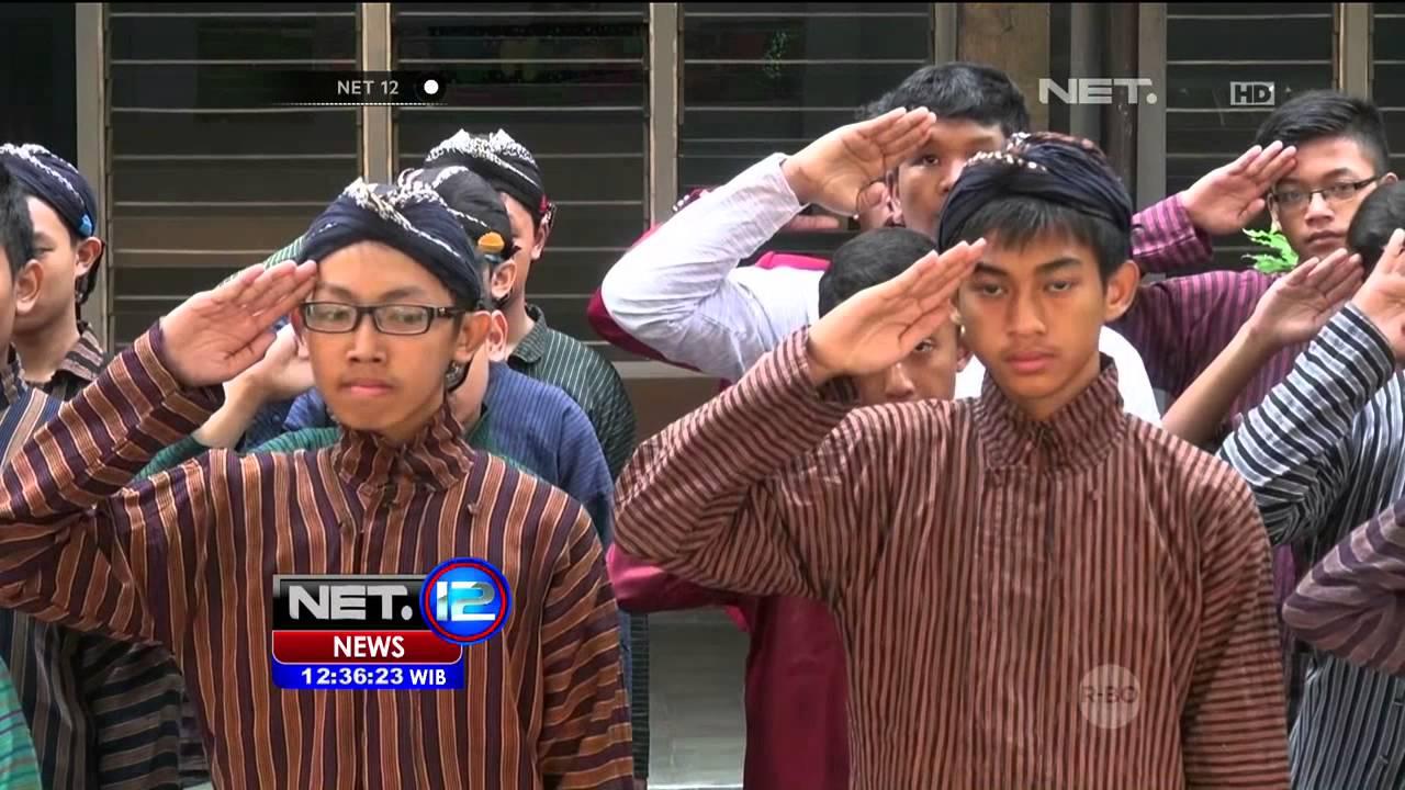 Peringati Hut Kota Jogja Pelajar Kenakan Pakaian Adat Jawa Net12