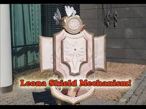 Valkyrie Leona Shield Mechanism!