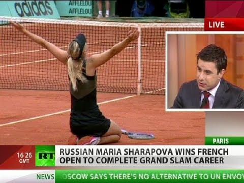 Ave Maria! Sharapova reigns after Career Grand Slam