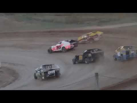 Cole Youse 11X heat race at Woodhull Raceway 9/30/2017