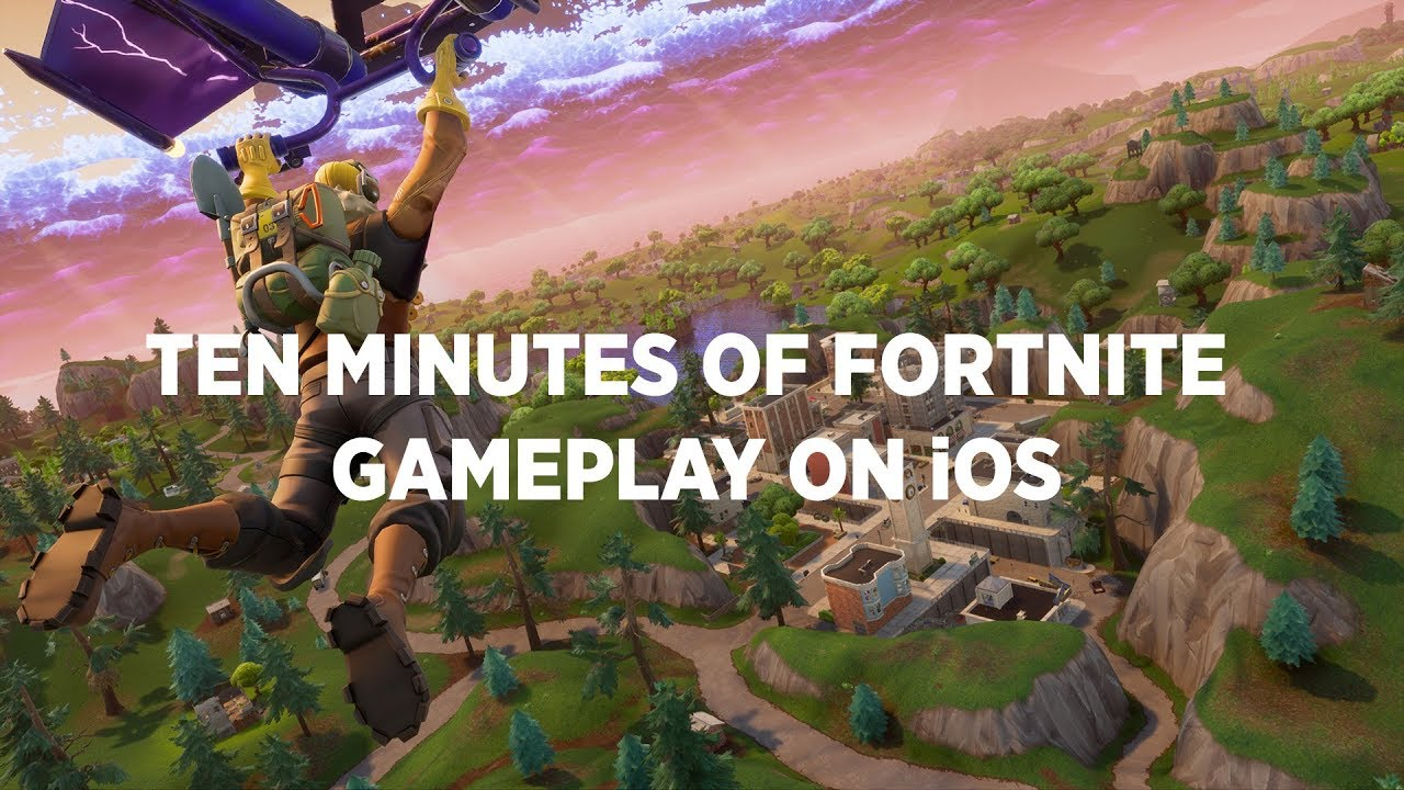 Fortnite: Battle Royale' On iOS: How To Download And Play It