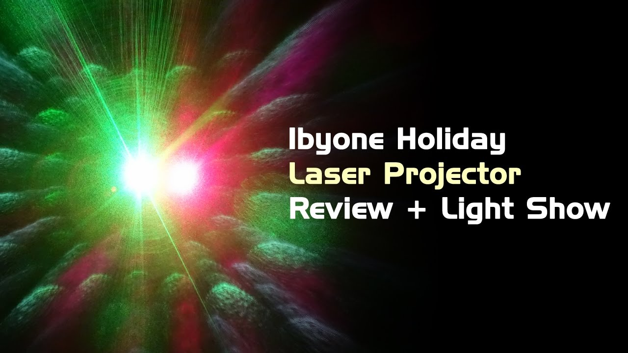 Review Light Show Outdoor Holiday Laser Projector From 1byone