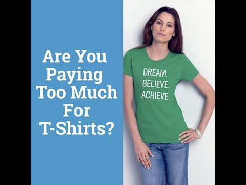 Wholesale Custom T Shirts - Custom Screen Printing - ACU PLUS