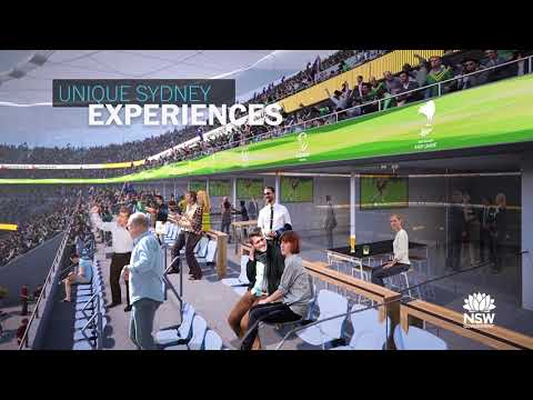 Sydney Football Stadium animation March 2018
