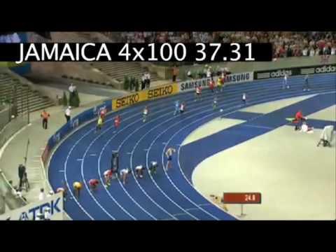 USAIN BOLT 4x100m FINAL BERLIN 2009