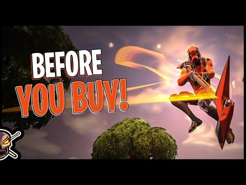 Vertex | Deflector BB | Forerunner Glider | Razor Edge Harvesting Tool - before You Buy - Fortnite