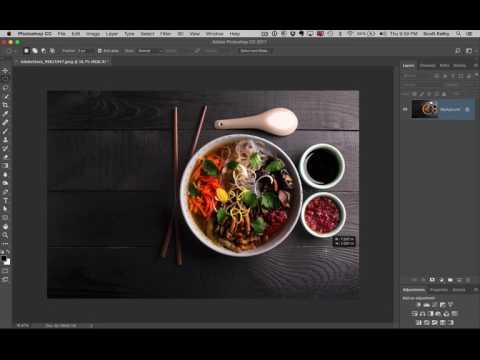 Photoshop Selection Trick For Round Objects