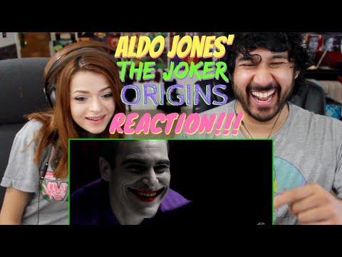 THE JOKER ORIGINS (2019) - Teaser Trailer | Joaquin Phoenix by ALDO JONES - REACTION!!!