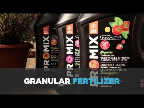 How To Use Organic Granular Fertilizer