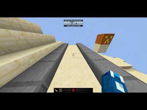 Minecraft Map กระโดด/PARKOUR Sprint [eake Kung]