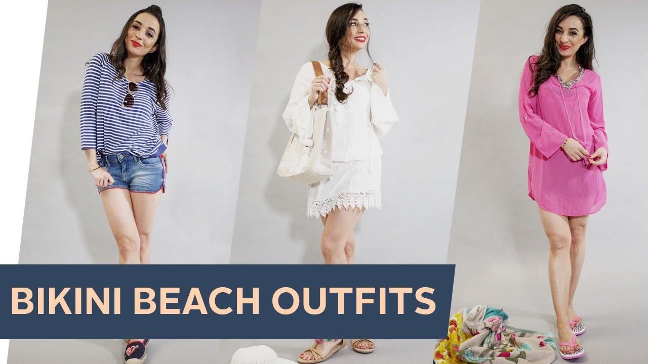 HOW TO STYLE BIKINI 3 Bikini Beach Outfits Refashion