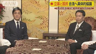 立憲と国民がトップ会談 合流に向け具体的協議へ(19/12/17)