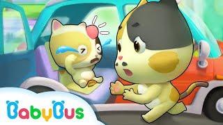 승차안전|차에서 바르게 앉아요|아기 안전교육동요|애니메이션|동화|베이비버스 동화 동요 더보기|BabyBus