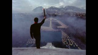 Grenoble 1968 Opening Ceremony of the Olympic Wintergames