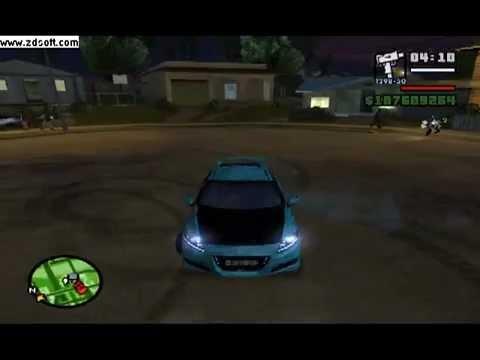 GTA Sanandreas Honda CR-Z & Toyota Hiace