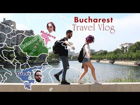 Romania - Bucharest Travel Vlog [Engl. Audio + subs]