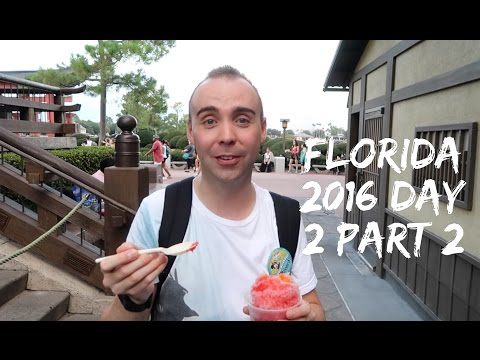 Florida Holiday - September 2016 - Day 2 - Hollywood Studios, Epcot, Boardwalk and Teppan Edo Part 2