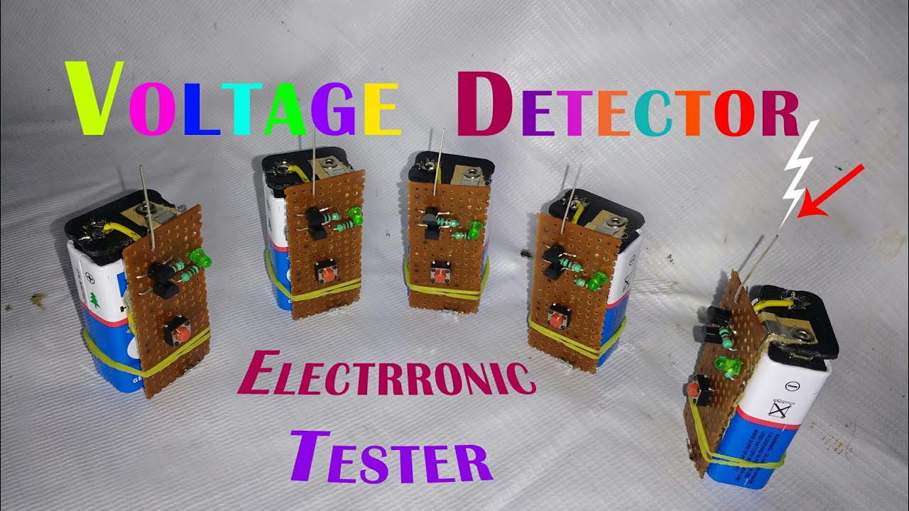 How To Make Non Contact Voltage Detector Ac Line Wireless Contactless Mains Circuit Diagram Tester Indianjugaad