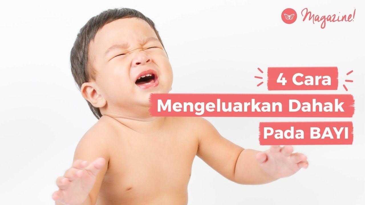 4 Cara Mengeluarkan Dahak Bayi Youtube