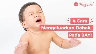 4 Cara Mengeluarkan Dahak Bayi