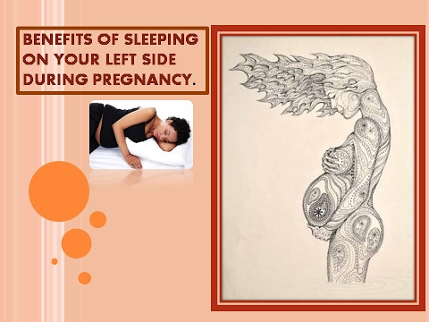 Benefits Of Sleeping On Your Left Side During Pregnancy Youtube