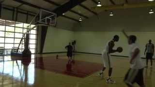 Dwight Howard Creating Moves from the Pick & Roll Position - Hakeem Olajuwon 2011