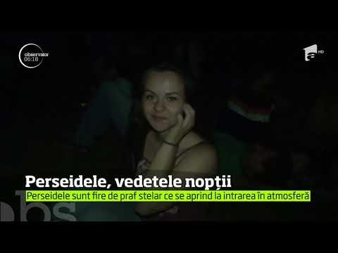 Mii de români au stat cu ochii pe cer ca să vadă roiul Perseidelor