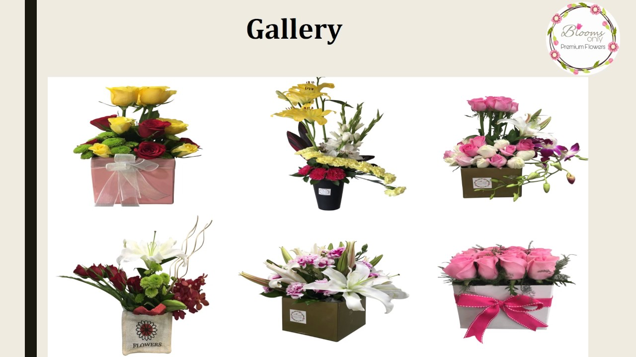 Order Birthday Flowers Online In Pune Blooms Only Youtube