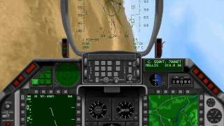 Retro Gaming - F-16 Fighting Falcon Air Combat