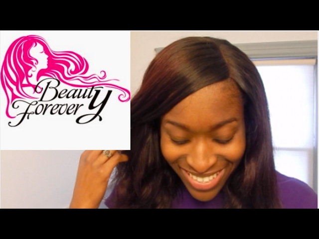 Beauty Forever Hair on Amazon and Lace Closure Review || Natural Hair