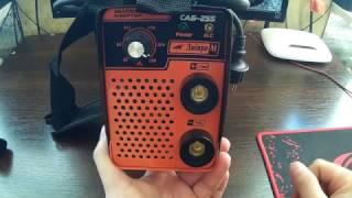 Сварочный инвертор Днепр-М САБ-255 часть 2,подробный обзор,тест и сравнение