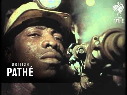 Gold Mining In Johannesburg (1969)