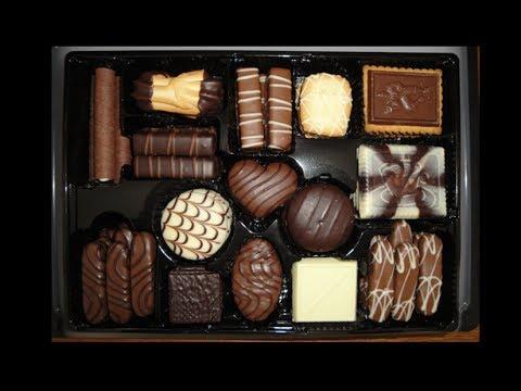 Tin Of Chocolates Cookies