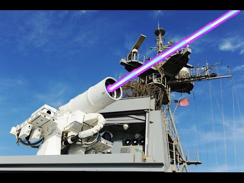 Super Killer Laser Gun: LaWS Laser Weapon System Live-fire,