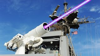 Super Killer Laser Gun: LaWS Laser Weapon System Live-fire,   Testing(LaWS)