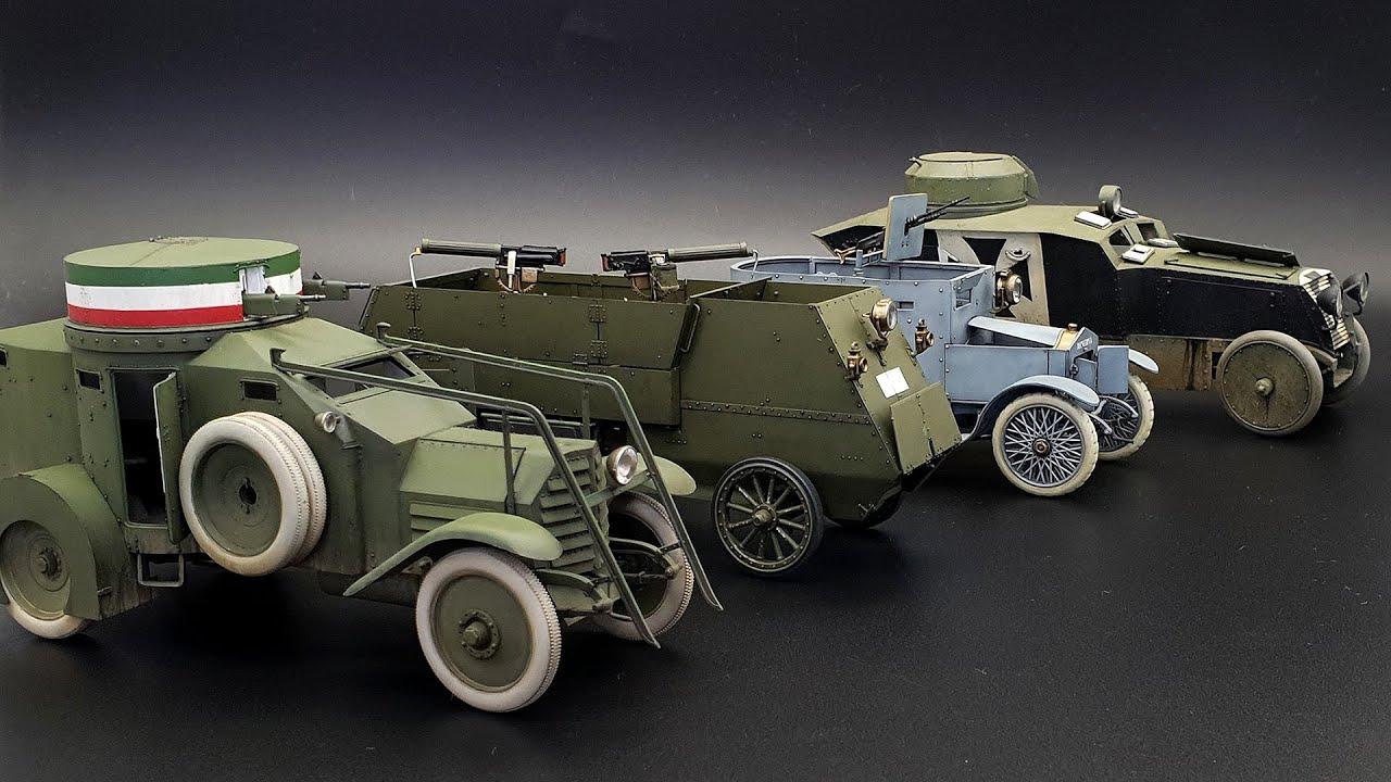 Бронеавтомобиль I МВ Минерва от компании Copper State Models в масштабе 1:35