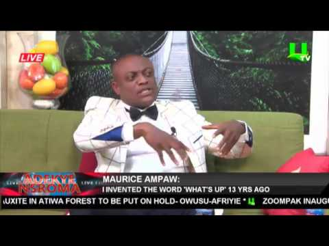 Watch Lawyer Maurice Ampaw Getting More Controversial On UTV's Adekye Nsroma