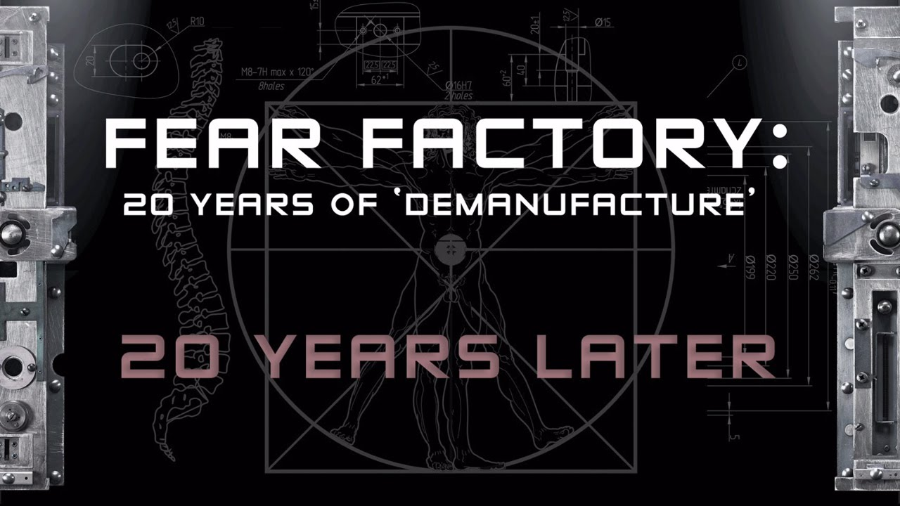 FEAR FACTORY — 20 Years of Demanufacture (PART 3: Interview with Monte Conner)