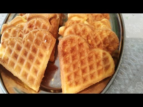 Bakina kuhinja - bakin kolač vafli (Grandma's cake waffles)