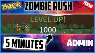 ✔️NEW ROBLOX HACK - ZOMBIE RUSH GUI - KILL ALL ZOMBIES, FLY, UNLOCK WORKSHOP AND MORE
