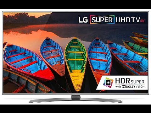 LG 55uh7700  Smart 4K Ultra HD With HDR TV - Review & Unboxing