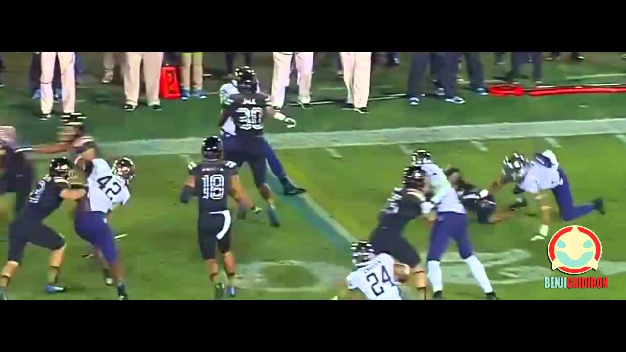 College Football Hardest Hits 2014 - YouTube